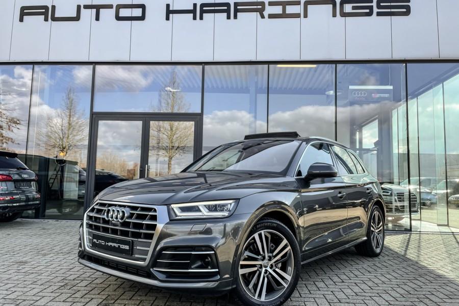 Audi Q5 2.0 TFSI S-line Luchtvering Panodak 360g-Camera's ACC Head-up