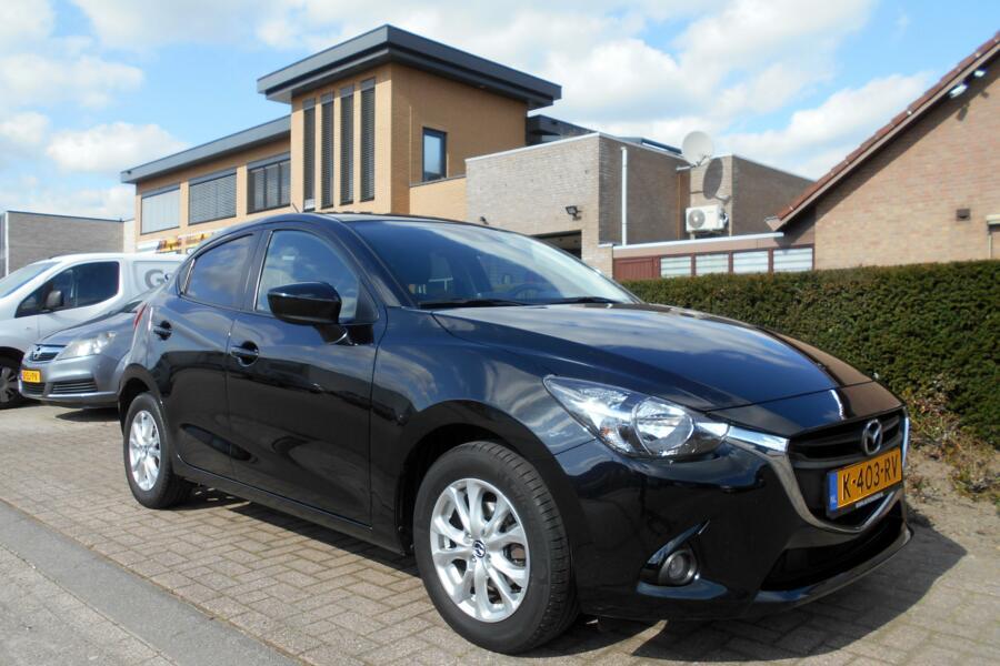 Mazda 2 1.5 Skyactiv|NAVIGATIE|TREKHAAK|CRUISECONTROL|STOELVERWARMING|PARKEERSENSOREN|INRUIL-MOGELIJK