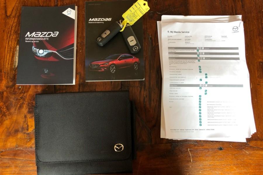 Mazda 6 Sportbreak 2.2D SkyActiv-D 150 Skylease (Vol-Opties!)BJ 2016