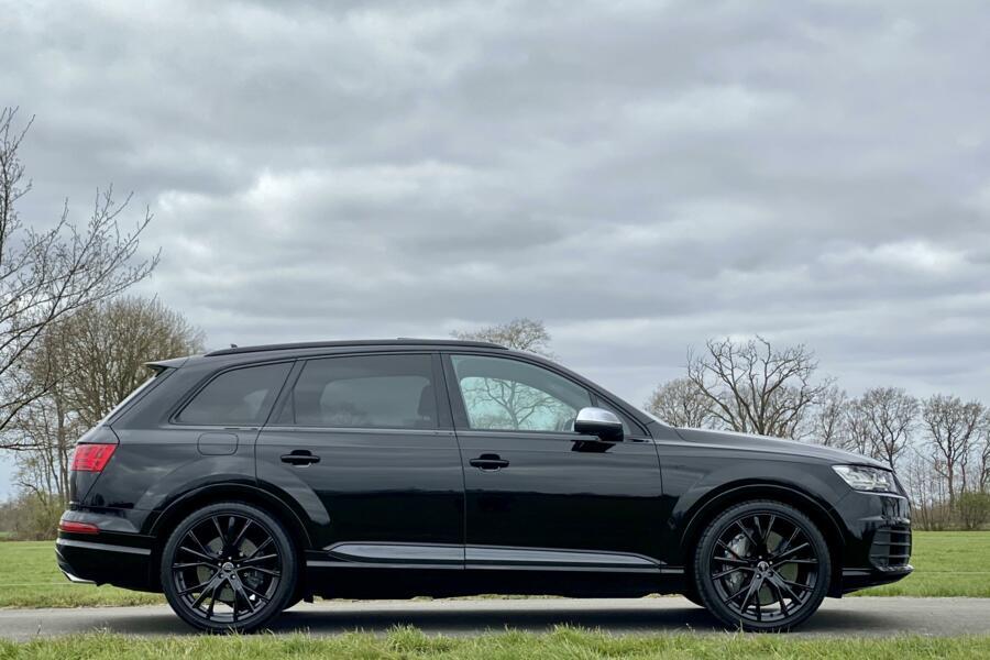 Audi SQ7 4.0 TDI quattro Grijs kenteken, keramische remmen
