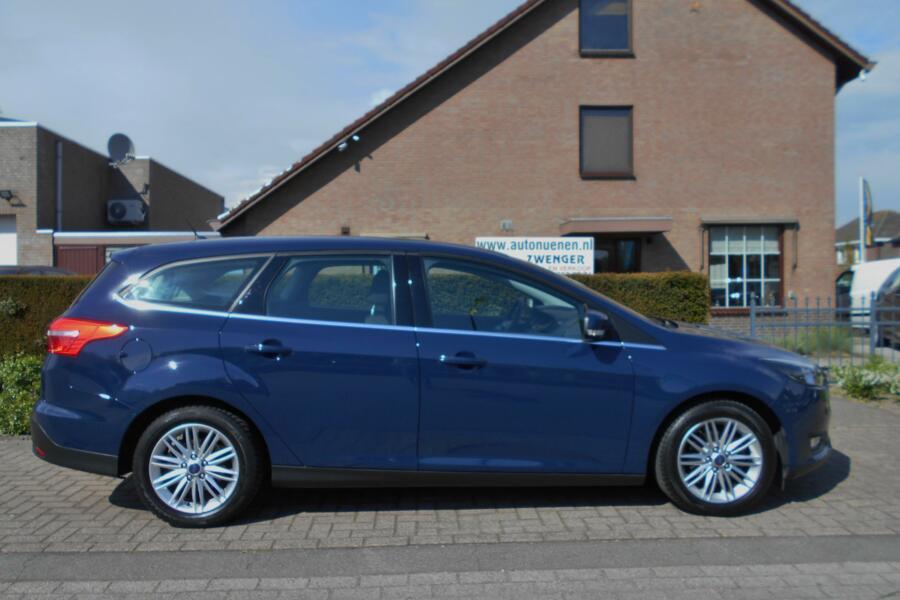 Ford Focus Wagon 1.0 CLIMATE-AIRCO|STOELVERWARMING|BLUETOOTH|STUURBEDIENING