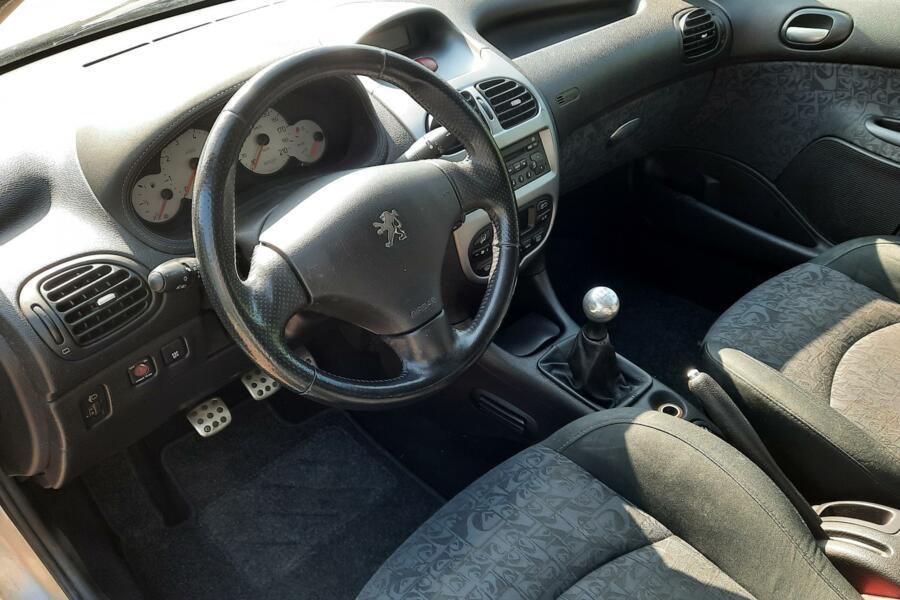 Peugeot 206 SW 1.6-16V Airco/Regensensor/LM Velgen