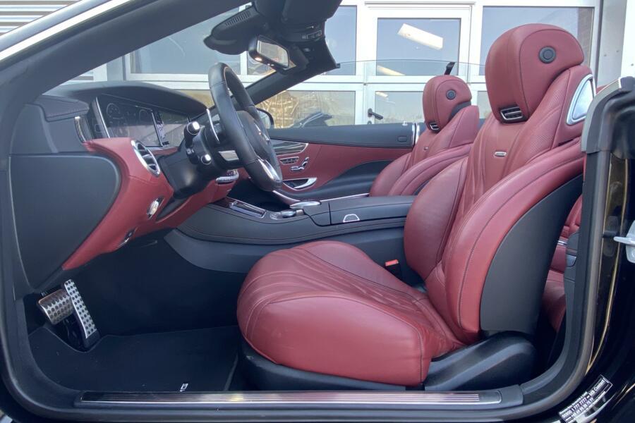 Mercedes S-klasse Cabrio 63 AMG 4Matic
