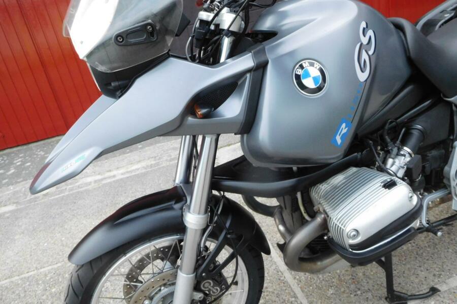 Mooie BMW R1150GS 2001 met ABS en koffers