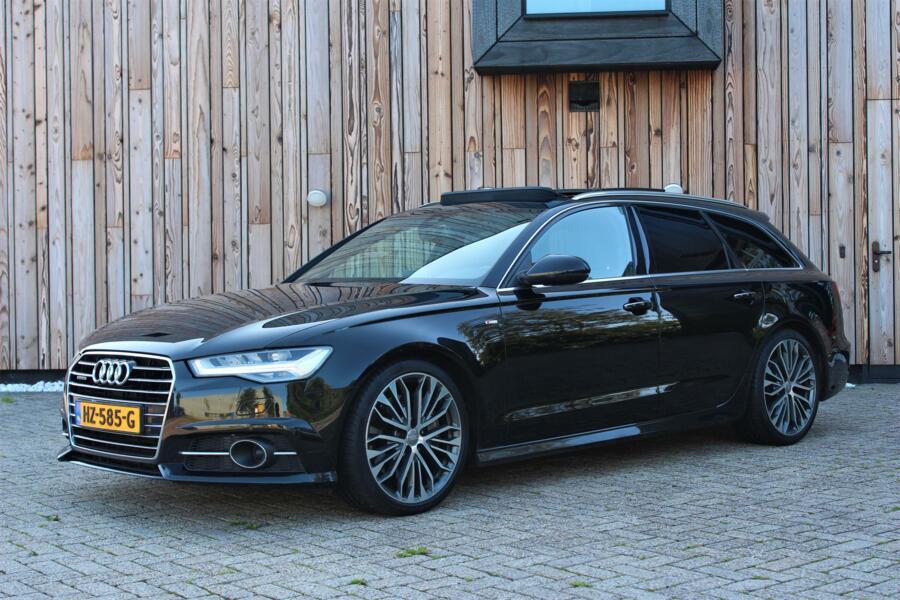Audi A6 Avant 3.0 TDI BiT quattro Premium S Line 320PK I VOL I PANO I LED I MEMORY I BOSE