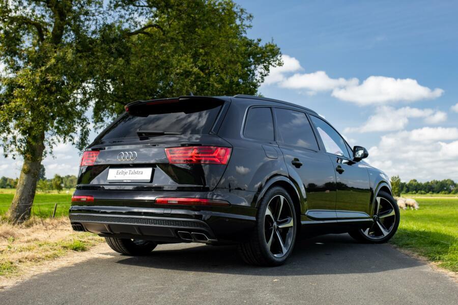 Audi SQ7 Grijs kenteken B&O 4-wiel best. Keramisch topstaat!