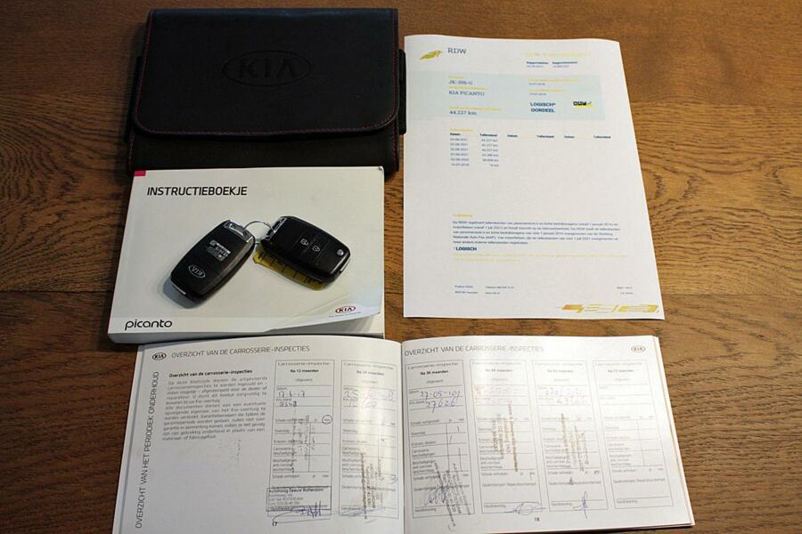 Kia Picanto 1.0 CVVT DynamicLine 5Pers Climate Control/Cruise Control