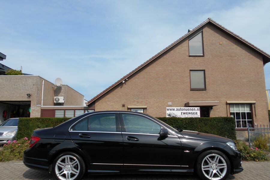 Mercedes C-klasse 200 K AUT. AMG Avantgarde NAVIGATIE|CRUISE-CONTROL|STOELVERWARMING|PARKEERSENSOREN|AMG-PAKKET|BLUETOOTH