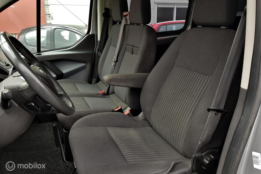 Ford Transit Custom 290 2.2 TDCI L2H1 Dub Cabine 125Pk Airco Cruise Margebus: Geen Btw/Bpm