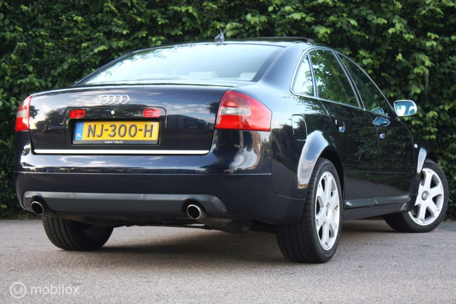YOUNGTIMER Audi S6 4.2 V8 quattro AUT 340pk topstaat/sunroof