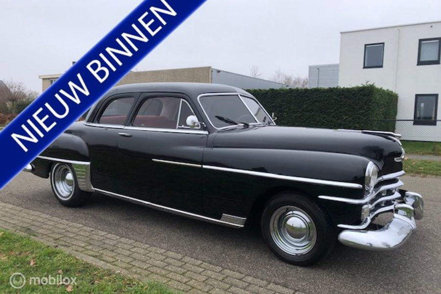 Chrysler Windsor - business coupe