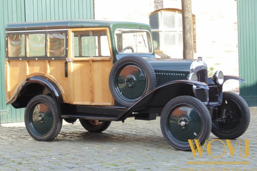 Citroen Bakkerswagen c3