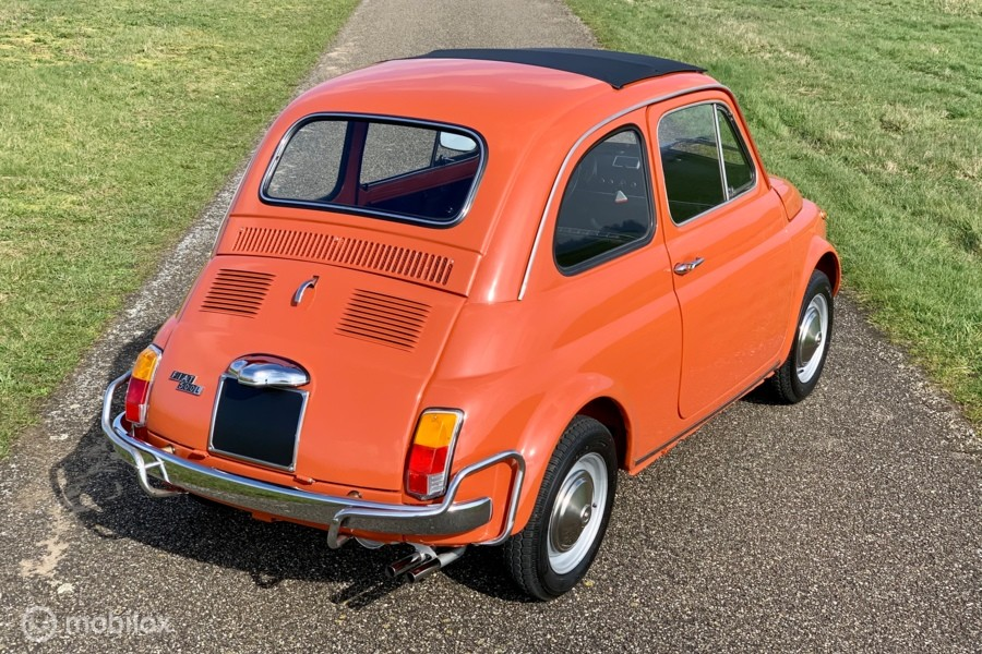 Fiat 500 L Topstaat Red Corallo