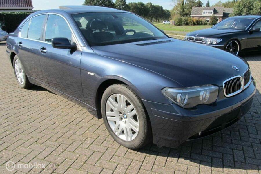 BMW  745i Executive 100 % nieuwstaat, 66260 km , uniek mooi !