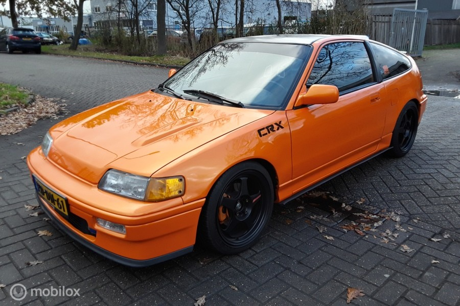 Honda Civic Coupé CRX 1.8 DOHC VTEC JDM B18C Turbo built 274pk ED9