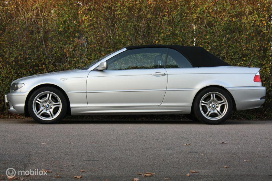 FACELIFT BMW 320Ci AUT Cabrio Executive youngtimer/topstaat