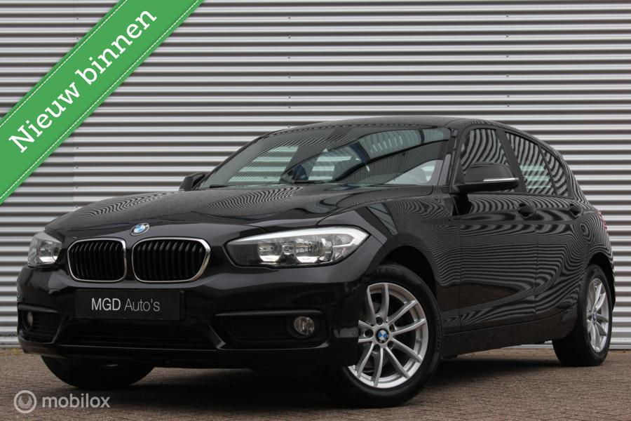 BMW 1-serie 118i Automaat /LED/AIRCO/STOELVERW./PDC V+A/16 INCH!
