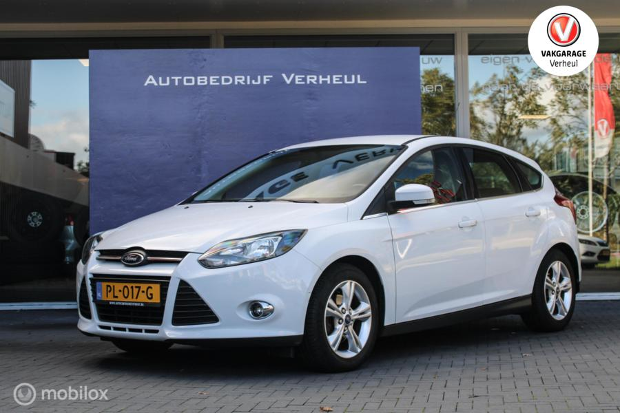 Ford Focus 1.0 EcoBoost Edition 125Pk Airco Boekjes+Historie compleet