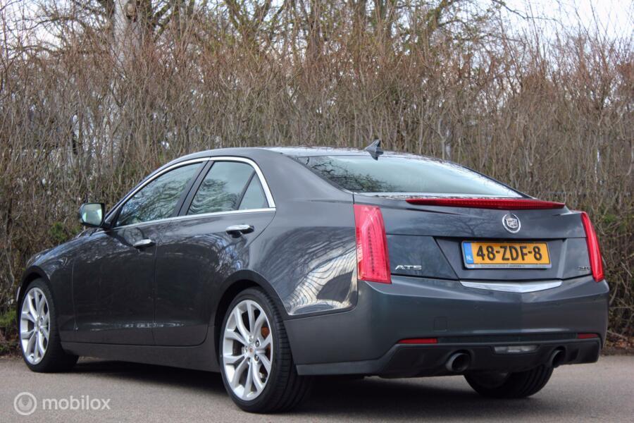 Cadillac ATS 2.0T Aut | karakter-auto met onverwachte luxe