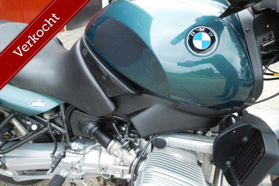 Fijne BMW R 850 R Roadster, vol accessoires