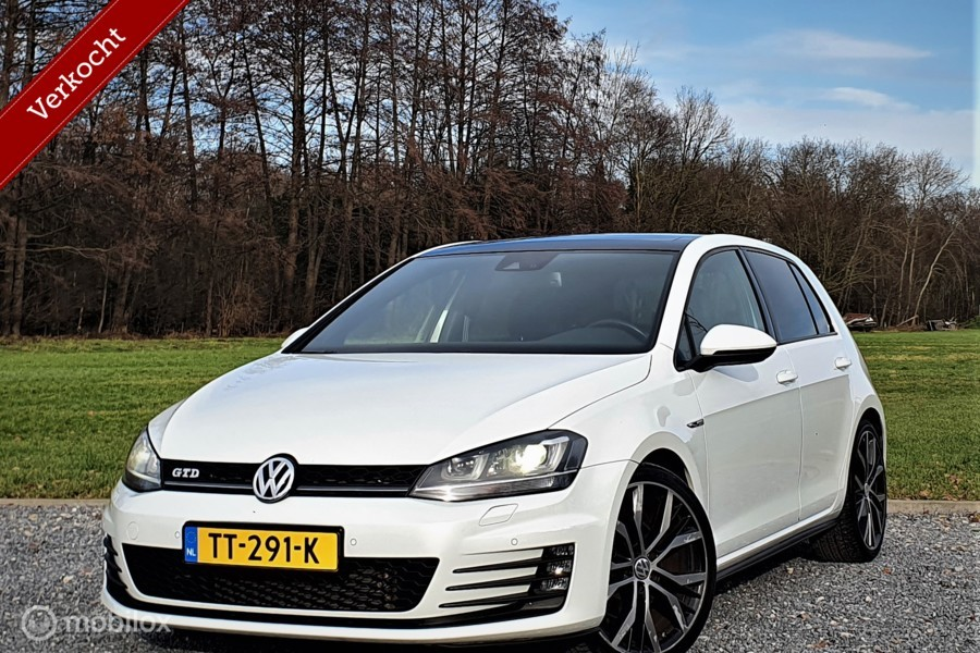 Volkswagen Golf 2.0 TDI GTD, Keyless, Panorama, Vol leder.