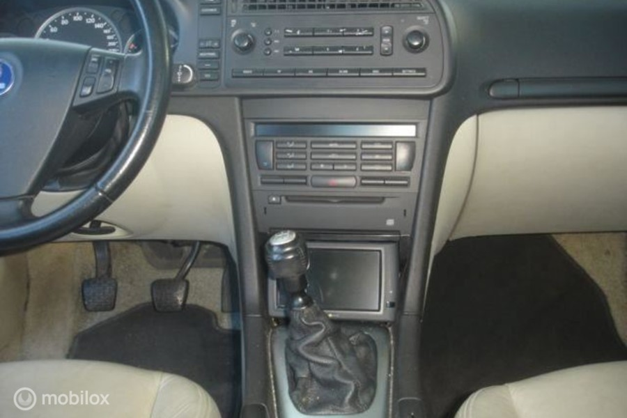 Saab 9-3 Sport Sedan - 2.2 TID airco-navi-leer Turbo defect