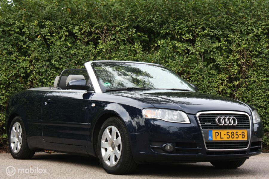 Audi A4 Cabriolet 3.0 TDI Quattro automaat Pro Line BTW-auto