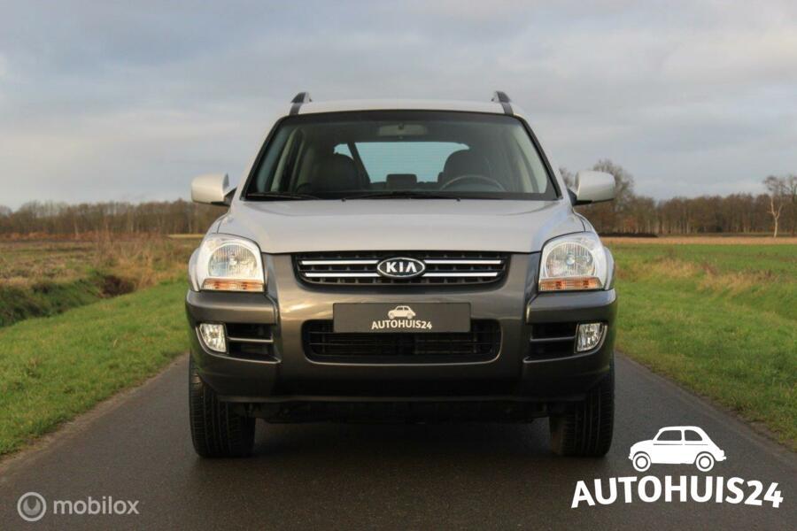 Kia Sportage 2.7 V6 Adventure 4WD *Verkocht!