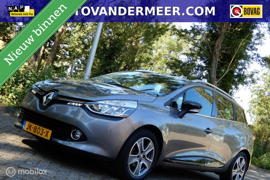 Renault Clio Estate 0.9 TCe Night&Day NAVI/PDC/BLUETOOTH/MULTUFUNC. STUUR/ETC.!
