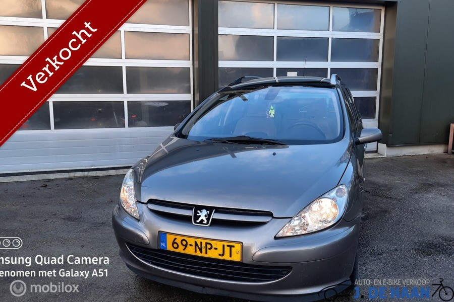 Peugeot 307 SW 2.0 HDiF Pack goedrijdend