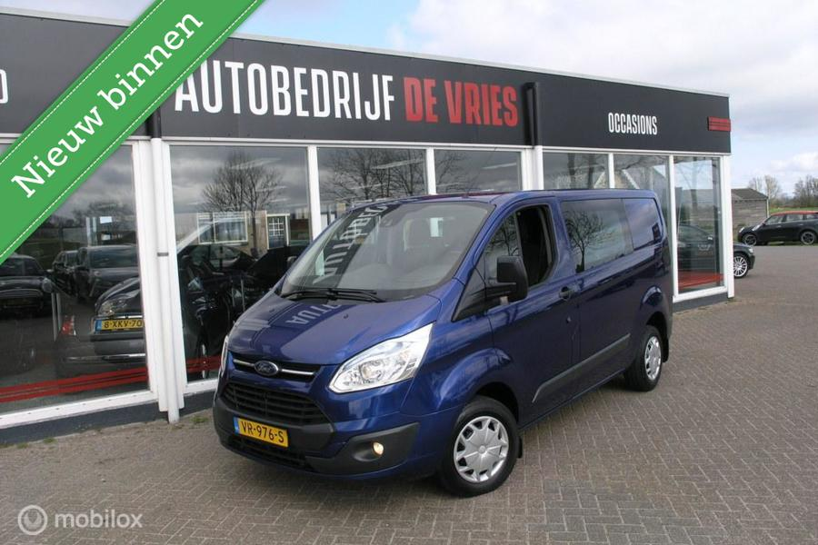 Ford Transit Custom 270 2.2 TDCI L1H1 DC 6P Navi/Camera/Trekhaak