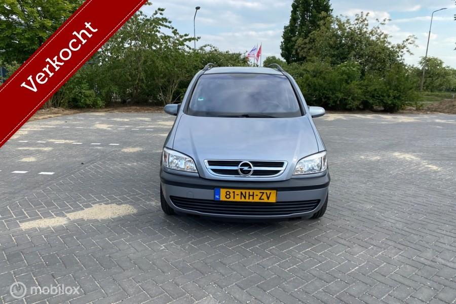 Opel Zafira 1.8-16V Comfort Airco/Cruise Control/7 Persoons/NAP Bj 2003