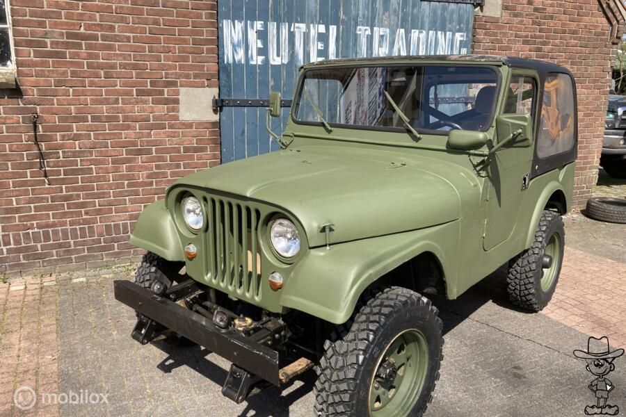Jeep  Cj-5 schijfremmen stuurbekrachtiging 4x4 kaiser