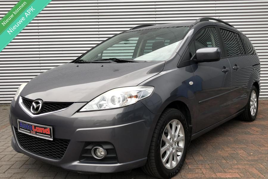 Mazda 5 1.8 NW Model 7 Persoons Airco Pdc Mp3 MF Stuur 2010