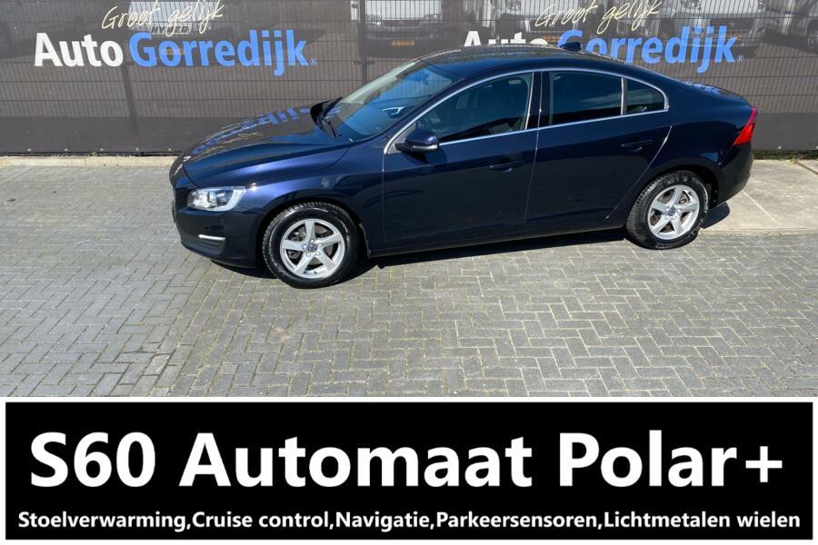 Volvo S60 2.0 D3 Polar+ Automaat,Navigatie 100.976 km