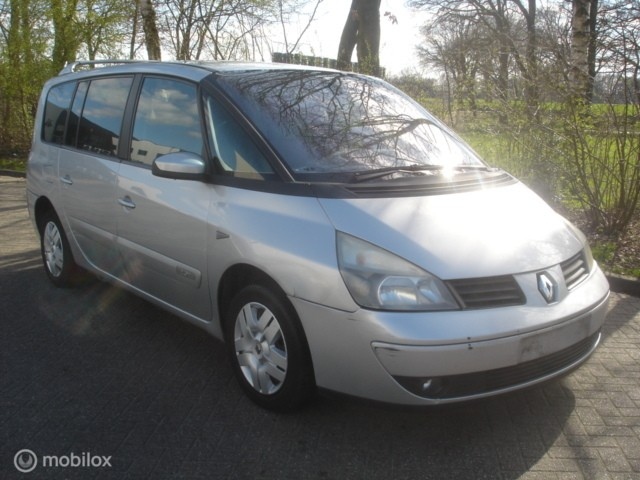 Renault Espace 2.0 T  7 Pers. Airco cruise Navi achterschade