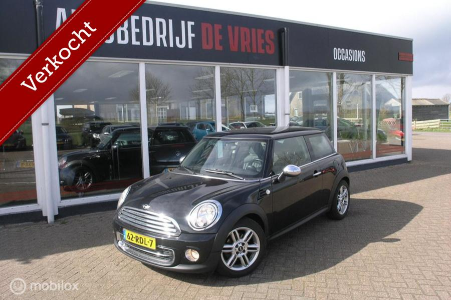 Mini Mini 1.6 Cooper 10 Years II Leder/Navi/Stoelverwarming