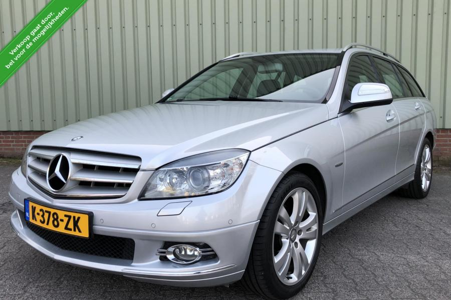 Mercedes C-klasse Estate C180 Autom/Avantgarde/Leer/Xenon/Navi/Cruise/Nw Model BJ 2008