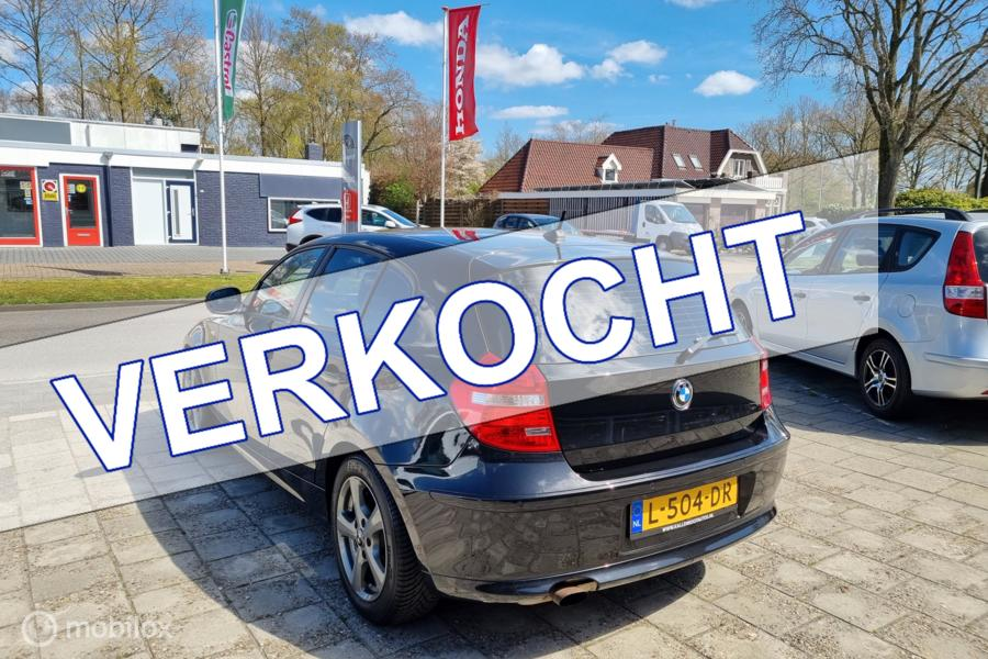 BMW 1-serie 118i Business Line, 5 Deurs, Clima, Cruise, PDC
