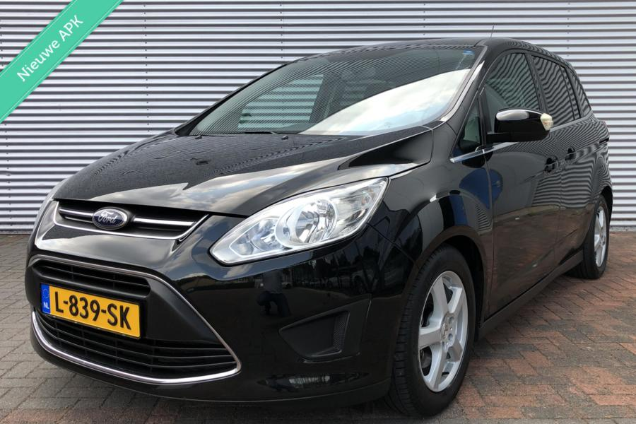Ford Grand C-Max 1.6 EcoBoost/7Persoons/Airco/Cruise/BJ 2011 Aux/Pdc Dealer Onderhouden