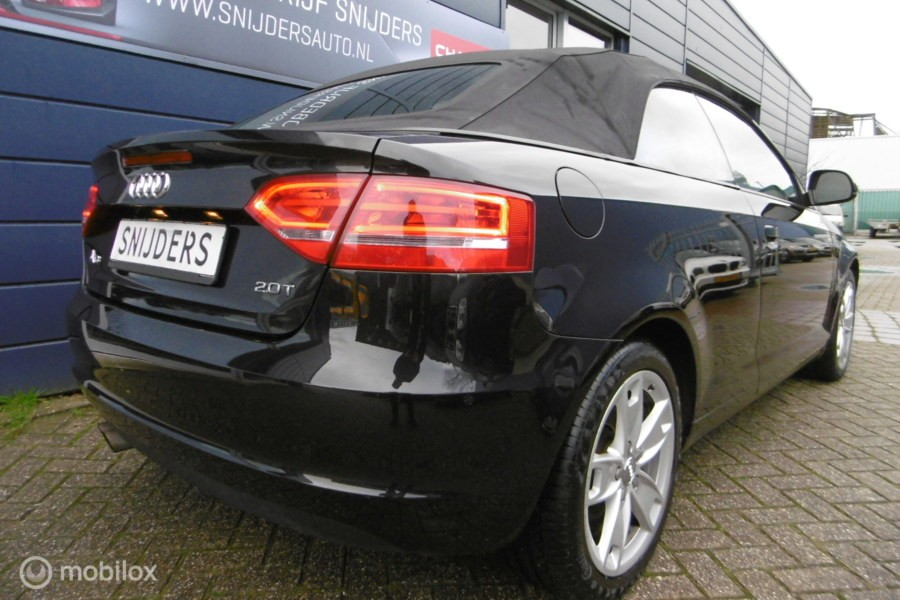 Audi A3 Cabriolet 2.0 TFSI Leer automaat