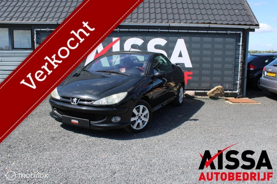 Peugeot 206 Cc 2.0-16V Roland Garros APK TOT 11-06-2021