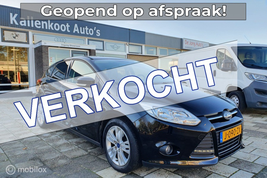 Ford Focus 1.6 EcoBoost 150PK, Stoelverwarming, PDC, Airco