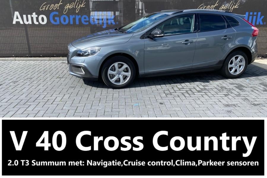 Volvo V40 Cross Country 2.0 T3 Summum Navigatie,Cruise,Pdc