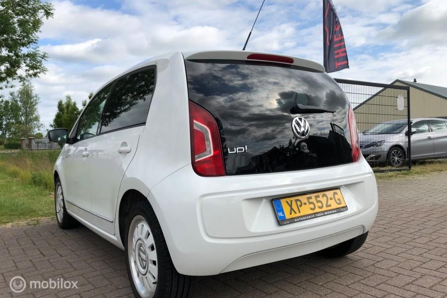 Volkswagen Up! 1.0 White up! BlueMotion 5Drs Navi Airco Stoelverwarming