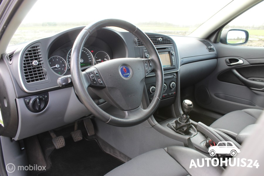 Saab 9-3 Sport Estate 1.8T Vector *Hirsch *Navi *Trekhaak