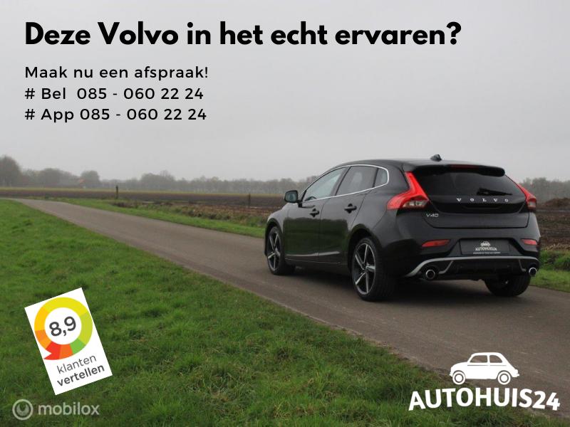 Volvo V40 2.0 D2 R-Design Business #VERKOCHT!
