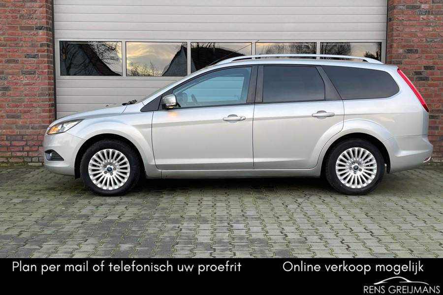 Ford Focus Wagon 1.8 Trend Flexi Fuel