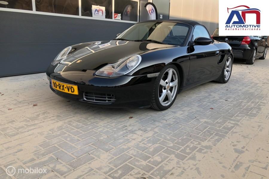 Porsche Boxster 2.7 sportonderstel, sportuitlaat