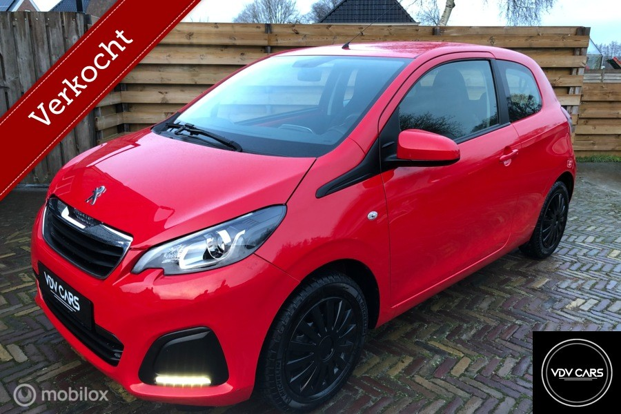 Peugeot 108 1.0 VTi Active Pack Premium, Airco, LED, BT,